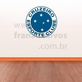 dbe869c876 Adesivo Decorativo - Escudo do Cruzeiro