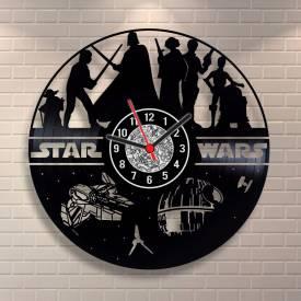 da80400492f Relógio de Disco de Vinil Star Wars modelo 01 - cód. 100