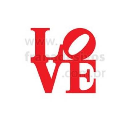 Adesivo de Parede Cabeceira Love 8
