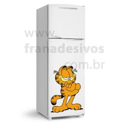 Adesivo de Geladeira Gato / Gatinho Garfield