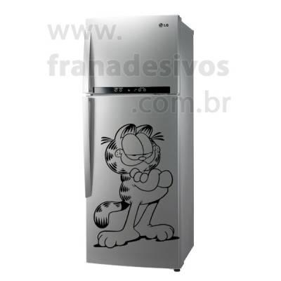 Adesivo de Geladeira Gato / Gatinho Garfield 3