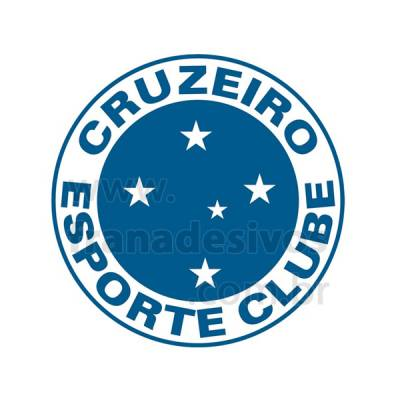Adesivo Decorativo - Escudo do Cruzeiro