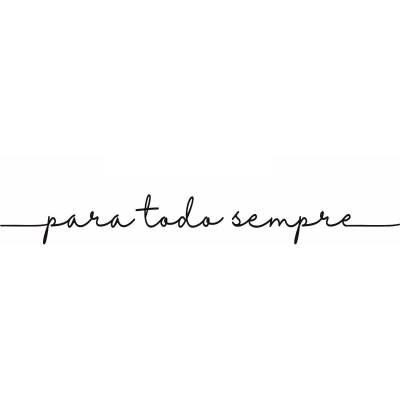 Adesivo Parede Romântico Frase Para Todo Sempre