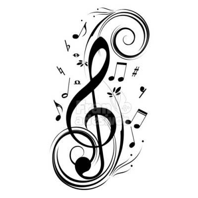 Adesivo de Parede Nota Musical