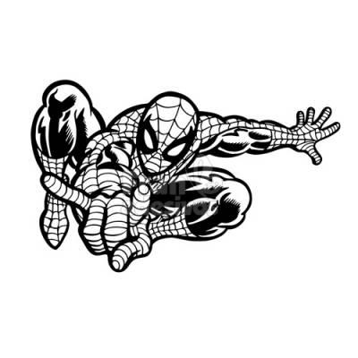 Adesivo de Parede Homem-Aranha Modelo 1