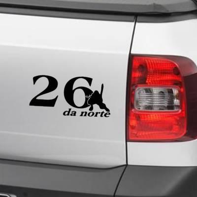 Adesivo De Carro E Moto Diversos 26 Da Norte