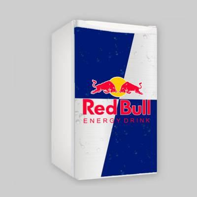 Adesivo para Envelopamento de Frigobar Completo Red Bull