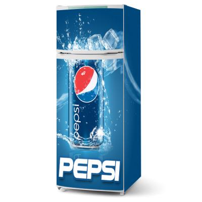 Adesivo para envelopamento de geladeira - Pepsi