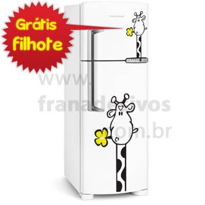 Adesivo de Geladeira Modelo Girafa / Girafinha