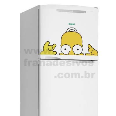 Adesivo de Geladeira Os Simpsons - Homer