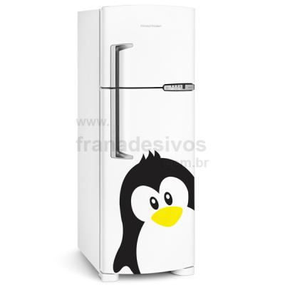Adesivo de Geladeira Pinguim de Moicano