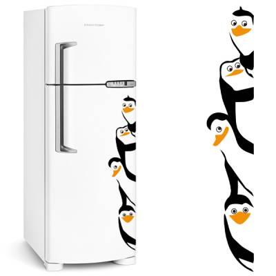 Adesivo de Geladeira Pinguim / Pinguins de madagascar