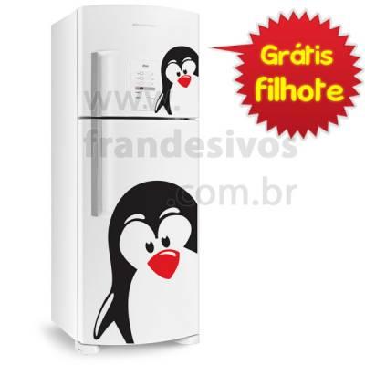 Adesivo de Geladeira Pinguim 1