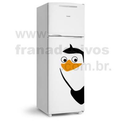 Adesivo de Geladeira Pinguim de madagascar modelo 1