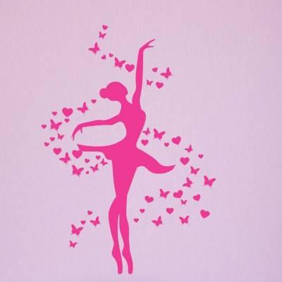 Adesivo de parede Bailarina Delicada