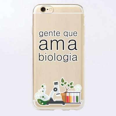 Capinha para Celular Gente Que Ama Biologia