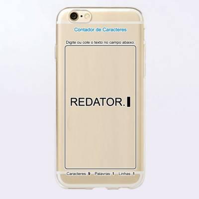 Capinha para Celular Redator
