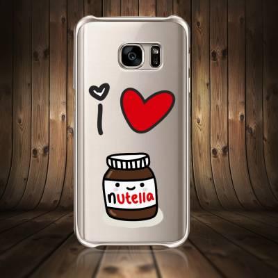 Capinha Para Celular I Love Nutella