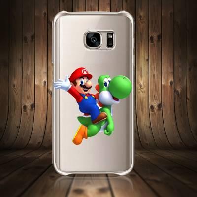 Capinha Para Celular Diversas Mario e Yoshi