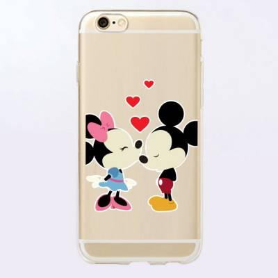 Capinha para Celular Mickey e Minnie Love