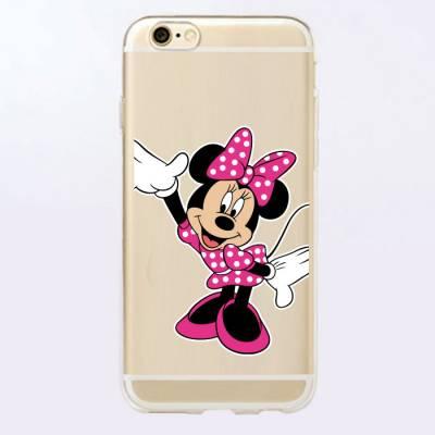 Capinha para Celular Minnie Mouse Rosa