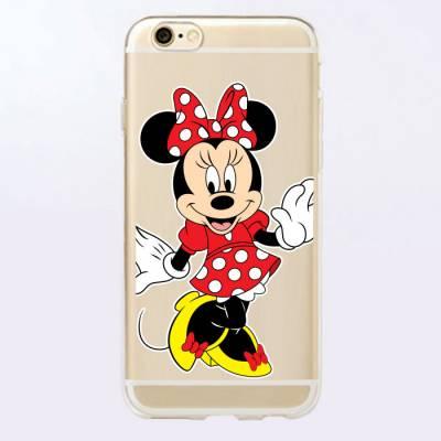 Capinha para Celular Minnie Mouse Vermelha