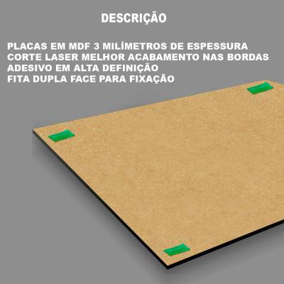 Kit 10 Quadros Decorativos Arvore E Frase Sonho