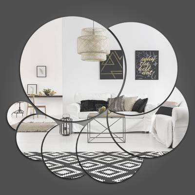 Espelho Decorativo Círculos Abstratos Mod 04