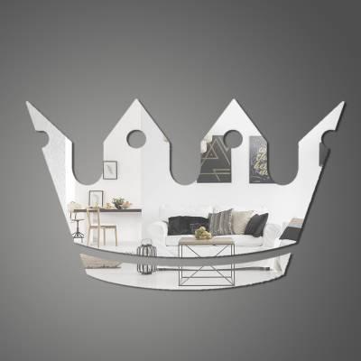 Espelho Decorativo Coroa Principe