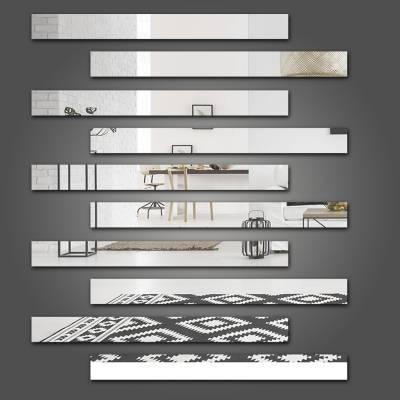 Espelho Decorativo Listrados Mod 02