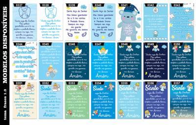 Placa Decorativa Infantil Menino Frase Oração Bebê