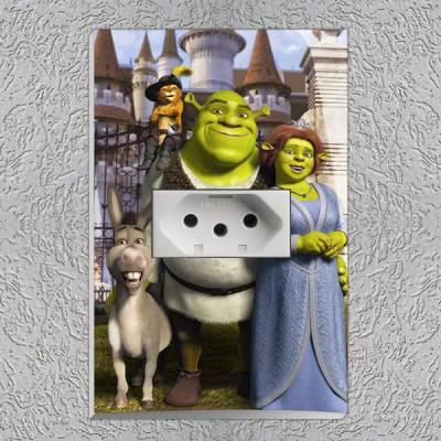 Interruptor Impresso Shrek