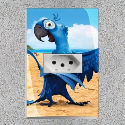Interruptor Impresso Rio Blu 2