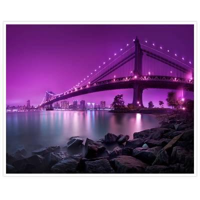 Painel Adesivo Para Parede Ponte e Praia