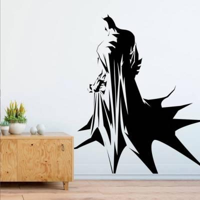 Adesivo De Parede Batman Capa De Costas