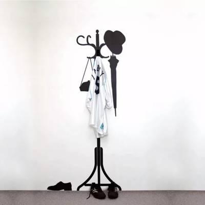 Adesivo de Parede Cabideiro Pedestal
