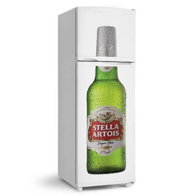Adesivo de geladeira Cerveja stella artois