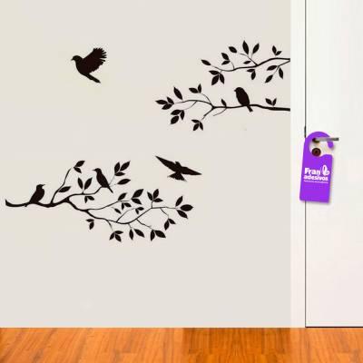 Adesivo de Parede Galhos e Pássaros 1