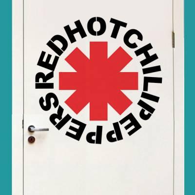 Adesivo de Parede Red Hot Chili Peppers