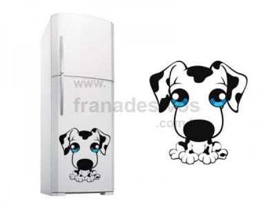 Adesivo para Geladeira Cachorro / Cachorrinho 3