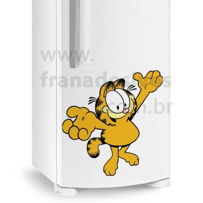 Adesivo de Geladeira Gato / Gatinho Garfield 2