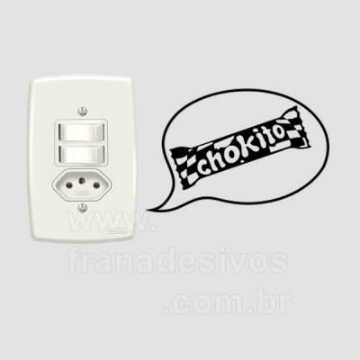 Adesivo Decorativo de Interruptor - Chokito