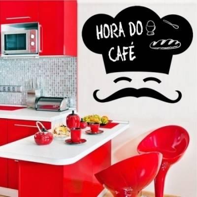 Adesivo de lousa para parede Chefe de cozinha