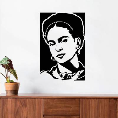 Adesivo De Parede Frida