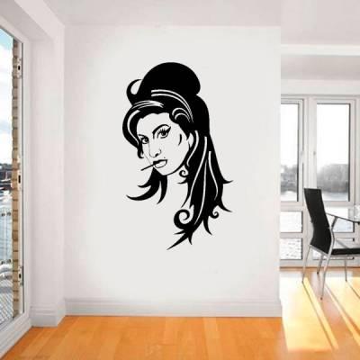 Adesivo decorativo de parede Amy Winehouse 3