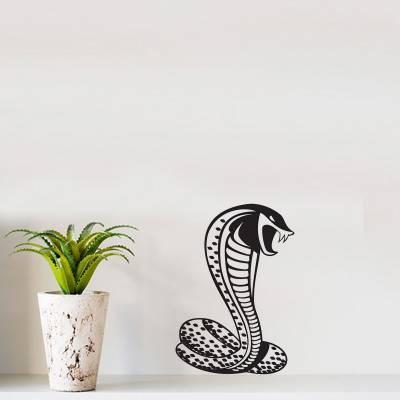 Adesivo de Parede Animais Cobra Naja