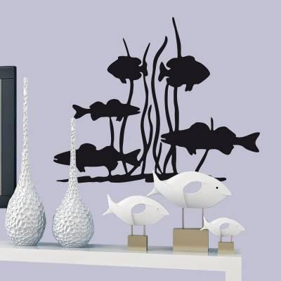 Adesivo de Parede Animais Peixes e Coral