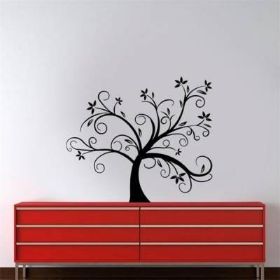 Adesivo de Parede Árvore com Folhas