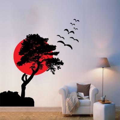 Adesivo de parede Arvore da Meditação