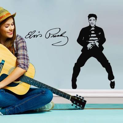 Adesivo de Parede Elvis Presley Dançando